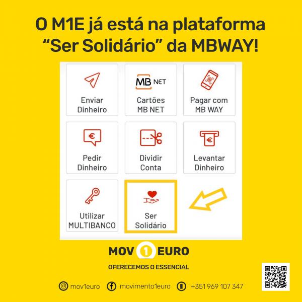 MBWAY - Ser Solidário