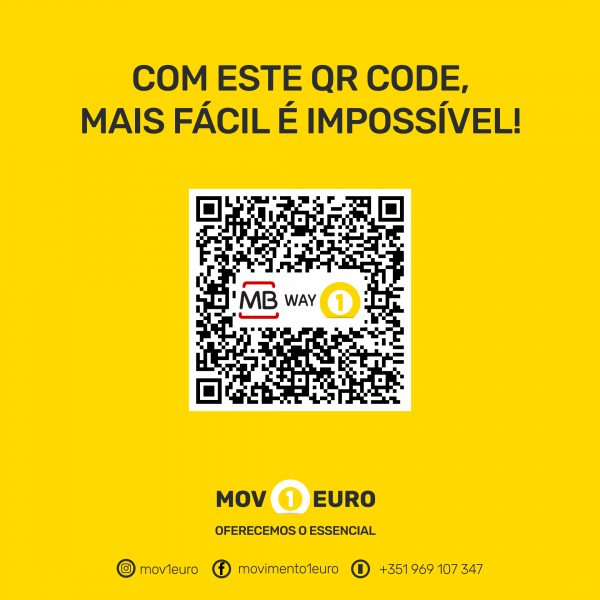 MBWAY - Ser Solidário QR code